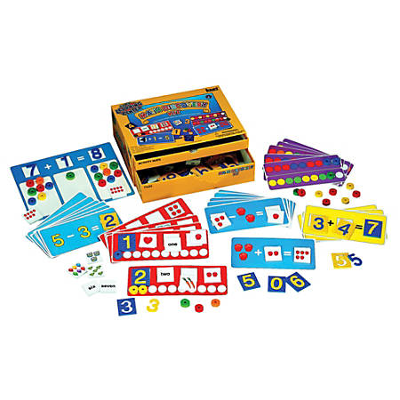 Playmonster Early Learning Center™ Math Discovery Kit, Pack Of 132