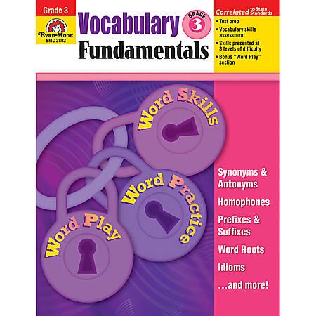 Evan-Moor® Vocabulary Fundamentals, Grade 3