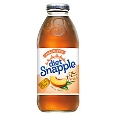 Snapple Diet Iced Tea Peach 16