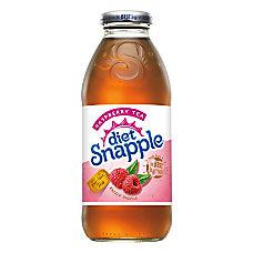 Snapple Diet Iced Tea Raspberry 16