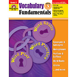Evan Moor Vocabulary Fundamentals Grade 5