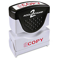 COSCO Shutter Message Stamp COPY Red