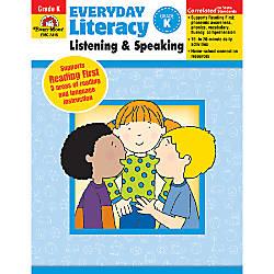 Evan Moor Everyday Literacy Grade K