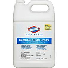 Clorox Healthcare Bleach Germicidal Cleaner 128