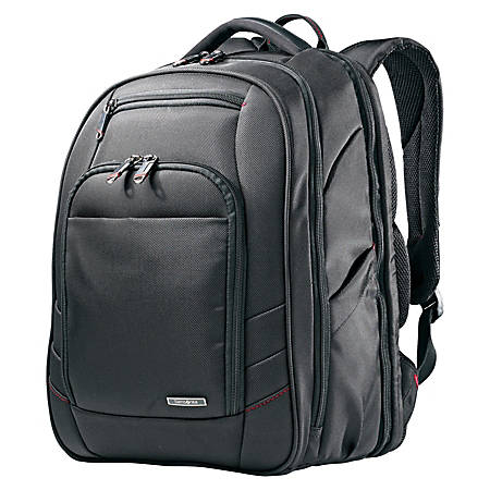 """Samsonite® Xenon 2 Perfect Fit Laptop Backpack For Laptop Computers Up To 15.6"""", Black"""