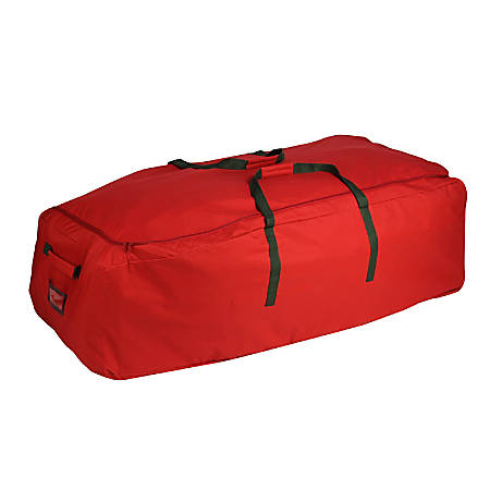 "Honey-Can-Do Artificial Tree Storage Bag, 55"" x 30"", Red"