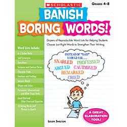 Scholastic Banish Boring Words