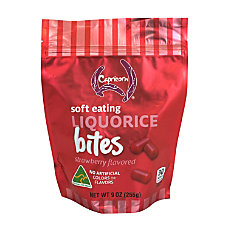 Capricorn Strawberry Soft Eating Licorice Bites