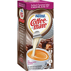 Coffee Mate Salted Caramel Chocolate Creamer