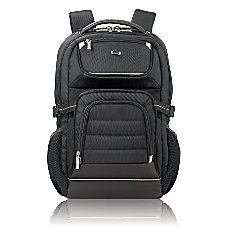 Solo Pro Laptop Backpack BlackTan