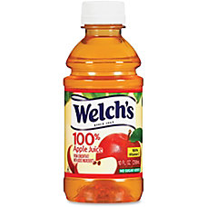 Welchs 100 Percent Apple Juice Ready
