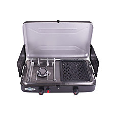 Stansport Propane Stove And Grill Black