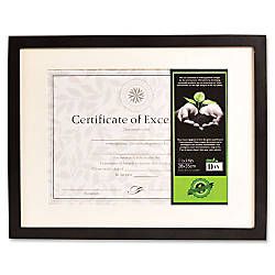 DAX FSC Certified Black Wooden Frame
