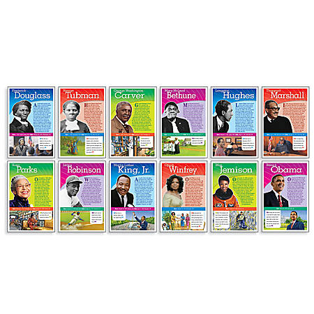 Scholastic Notable African Americans Bulletin Board