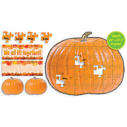 Pumpkin Puzzle Bulletin Board