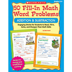 Scholastic 50 Fill In Math Word