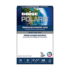 Boise POLARIS Premium Multipurpose Paper Ledger
