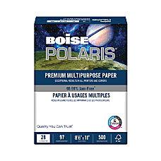 Boise POLARIS Premium Multipurpose Paper Letter