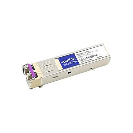 AddOn Ciena NTK591MB Compatible TAA Compliant 1000Base-CWDM SFP Transceiver (SMF, 1490nm, 40km, LC)