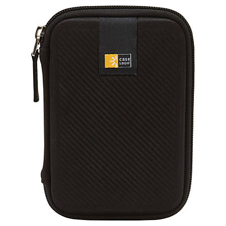 Case Logic® Portable Hard Drive Case, black