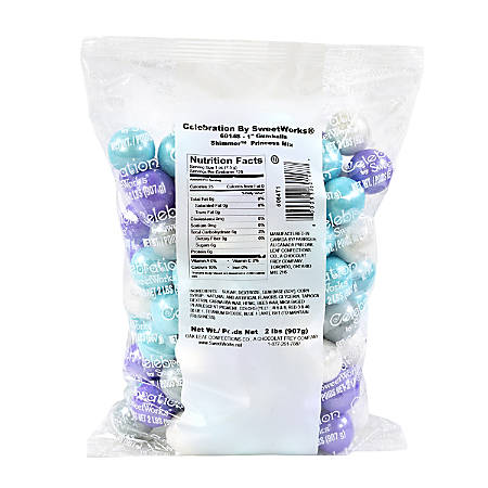 SweetWorks Princess Mix Gumballs, 2 Lb Bag, Assorted