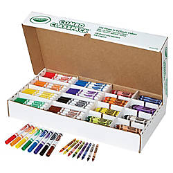 Crayola CrayonsMarkers Combo Classpack Assorted Ink