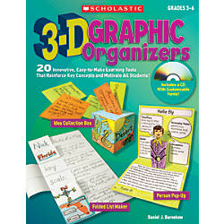 Scholastic 3 D Graphic Organizers