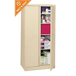 Basyx By Hon Metal Storage Cabinet 5 Shelves 72 H X 18