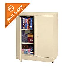 Basyx By Hon Metal Storage Cabinet 3 Shelves 42 4