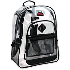 Trailmaker Clear Backpack Black