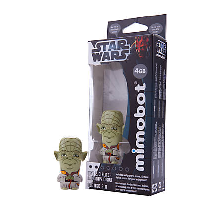 Mimoco USB Flash Drive, 8GB, Star Wars Yoda