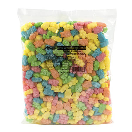 Albanese Confectionery Gummies, Bright Gummy Bears, 4.5-Lb Bag