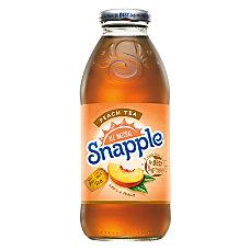 Snapple Iced Tea Peach 16 Oz