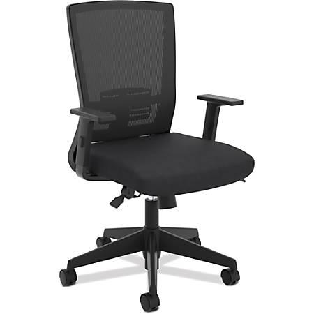Basyx by HON® Mesh High-Back Chair, Black