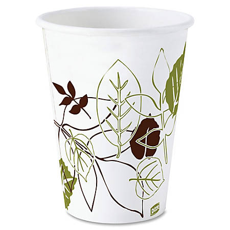 Dixie® Paper Hot Cups, 10 Oz., Carton Of 1000