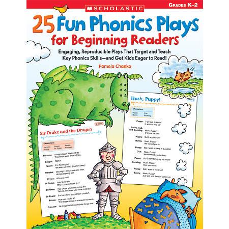 Scholastic 25 Fun Phonics Plays For Beginning Readers