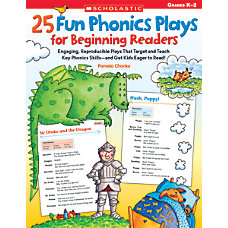 Scholastic 25 Fun Phonics Plays For