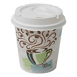 Dixie PerfecTouch Hot Cups And Lids