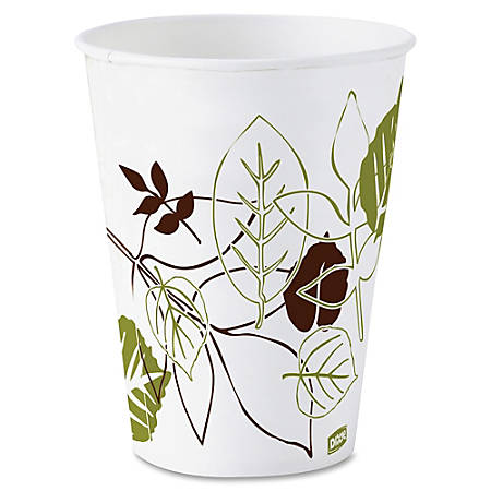 Dixie® Paper Cold Cups, 5 Oz., Pathways, Carton Of 2400