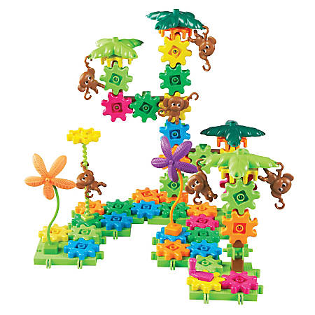 Learning Resources® Gears! Gears! Gears!® Movin' Monkeys™ Building Set, Pre-K - Grade 2