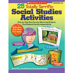 Scholastic 25 Totally Terrific Social Studies