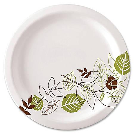 "Dixie® Paper Plates, 8-1/2"", Pathways, Carton Of 500 Plates"