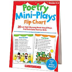 Scholastic Poetry Mini Plays Flip Chart