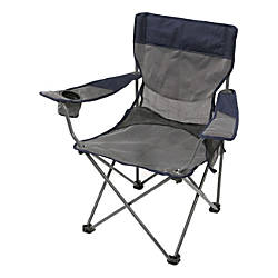 Stansport Apex Deluxe Arm Chair GrayBlue