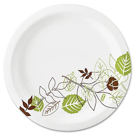 "Dixie® Paper Plates, 8-1/2"", Pathways, Carton Of 1,000 Plates"