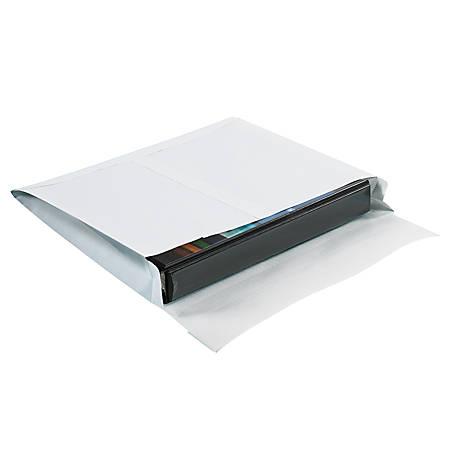 "SHIP-LITE® Envelopes, 10"" x 13"", End Opening, White, Pack Of 100"