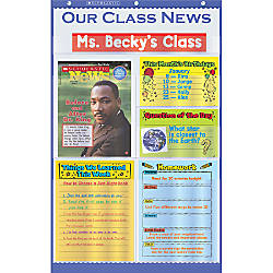 Scholastic Our Class News Pocket Chart