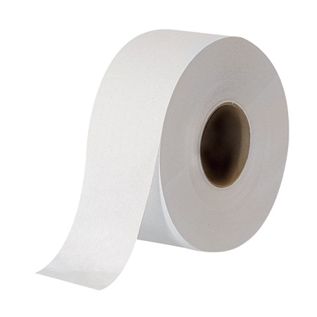 Georgia Pacific Envision Jumbo Jr 2 Ply Bathroom Tissue Rolls 3 12 X 1000 100percent Recycled White Pack Of 8 By Office Depot Officemax