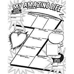 Scholastic Graphic Organizer Posters My Timeline Grades 3