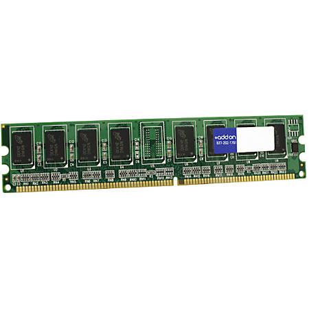 AddOn AA667D2N5/2GB x1 JEDEC Standard 2GB DDR2-667MHz Unbuffered Dual Rank 1.8V 240-pin CL5 UDIMM
